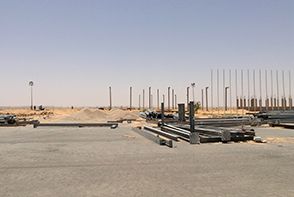 Hopes for the future: new terminal being built at Ghadames airport