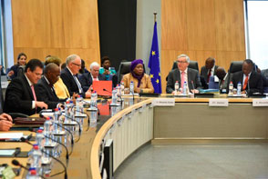 The seventh College-to-College meeting between the European Commission and the African Union Commission took place in Brussels