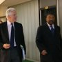19 June 2010 - EU Commissioner Michel BARNIER and African Union Chairperson Jean PING