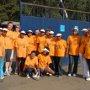 EU staff during the Great Ethiopian Run