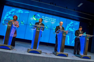 EU - Africa Partnership : Investing in People, Prosperity and Peace