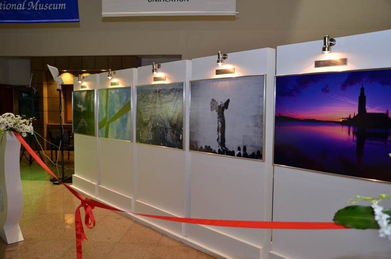 "Photo exhibition ""Europe seen by Gulf Arab Students,"" at the National museum in Riyadh"
