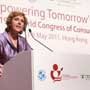 "Connie Hedegaard, European Commissioner for Climate Action talks on ""Empowering the consumers in a green economy"" at the Consumers International World Congress"