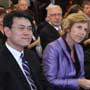 "Connie Hedegaard, European Commissioner for Climate Action attends a forum, ""Climate action in Europe and Hong Kong – a continuing conversation"" along with Edward Yau, Secretary for Environment of Hong Kong"