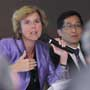 "Connie Hedegaard, European Commissioner for Climate Action speaks at a forum, ""Climate action in Europe and Hong Kong – a continuing conversation"""