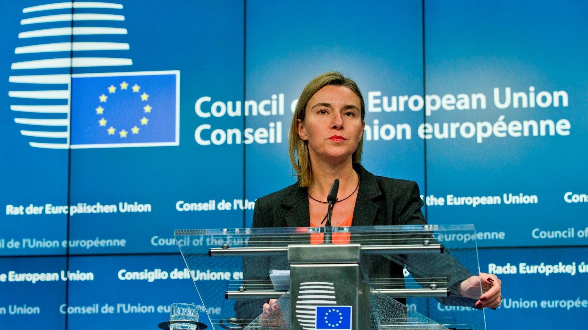 EU外務・安全保障政策上級代表 -...