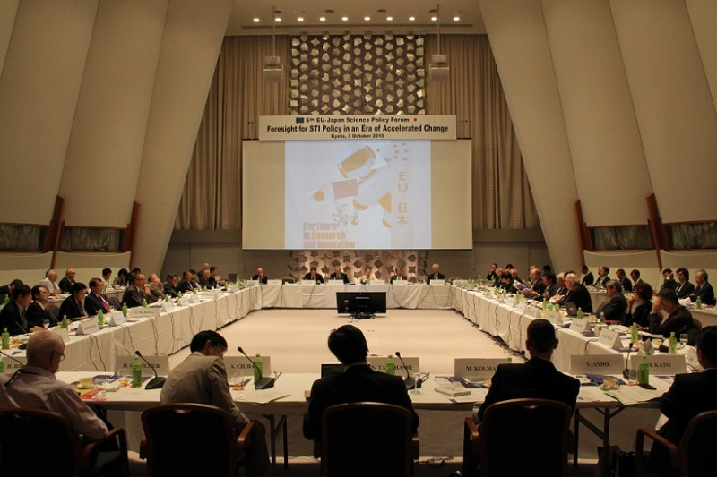 6th EU-Japan Science Policy Forum, Kyoto, 3 October 2015