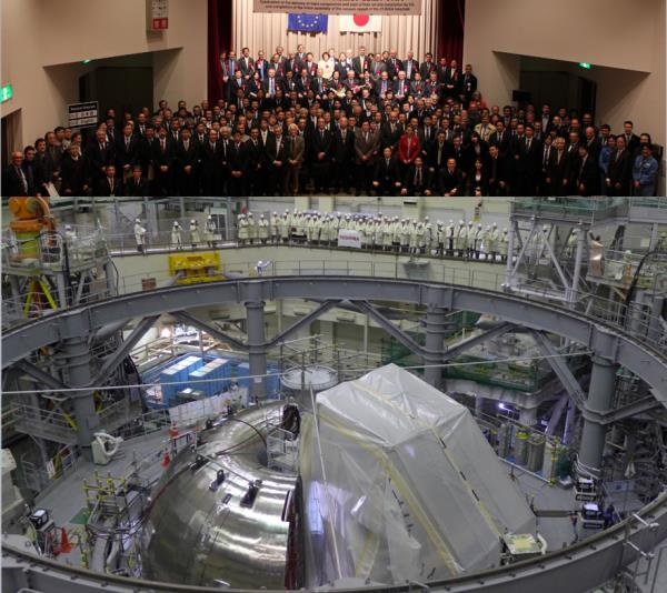 Broader Approach, Tokamak JT60SA, photo JAEA