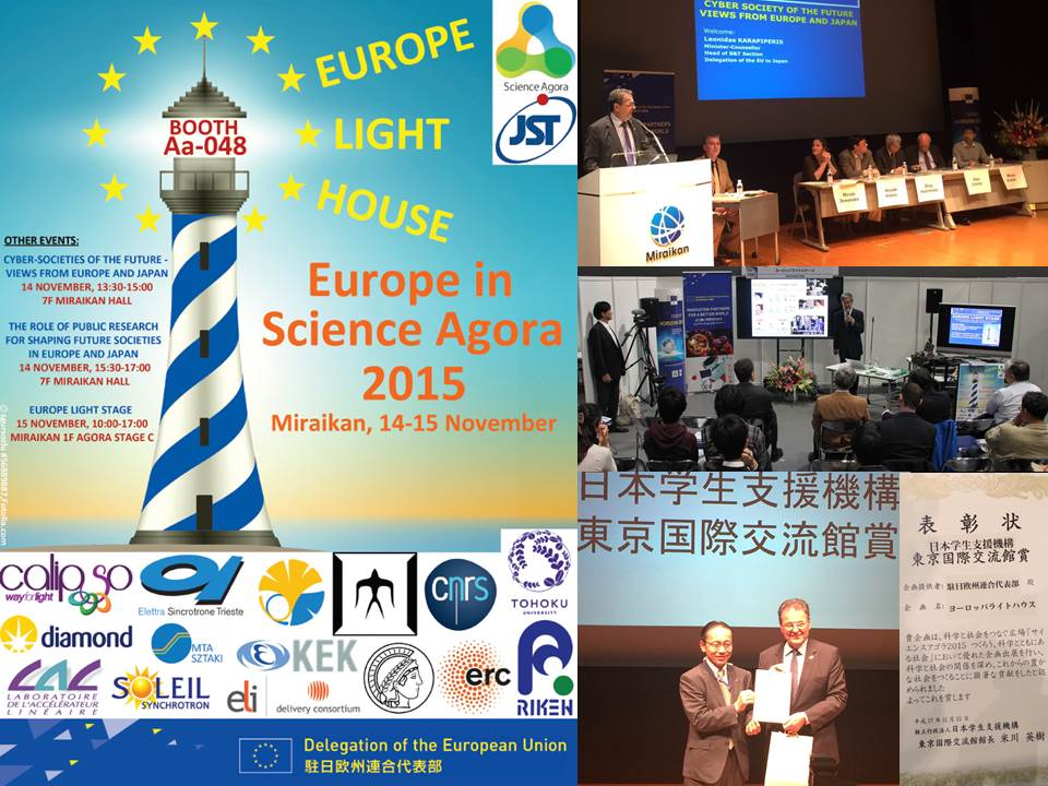 Science and technology relations european external for Europe in november