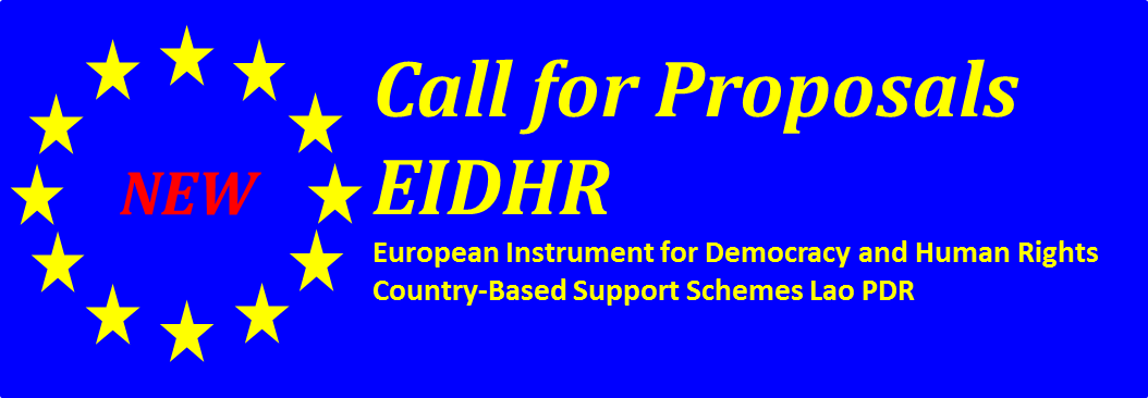 Call for proposals - European Instrument for Democracy and Human Rights EIDHR
