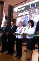 Ambassador Marie Anne Coninsx opens photo exhibition on Climate Change in the State of Coahuila.