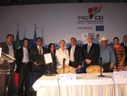 Presentation of business projects that will receive support from the European Union and PROMEXICO