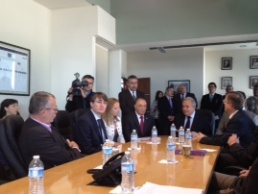 Political and Economic Counsellors of the European Union visit Baja California