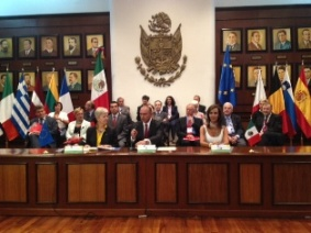 The EU diplomatic Corp. in Mexico visits the state of Queretaro from 23-26th May 2012
