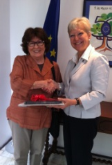Mrs. Louise Arbour meets with EU Ambassadors