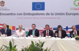 Official visit of EU Ambassadors to the State of Mexico