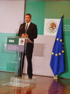 The Special Representative of the European Union on Human Rights gave a press conference in the framework of the Third EU-Mexico High Level Human Rights Dialogue.