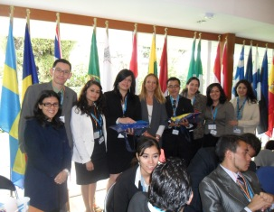 Students from various Universities participated in the Third Negotiation Model of the Council of the European Union.