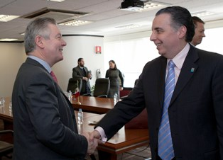The European Union Trade Commissioner met the Mexican Economy minister