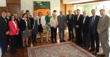 European Union Ambassadors met with the Governor of Morelos