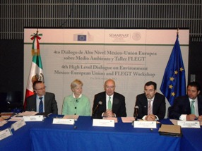 The European Union and Mexico hold the Fourth High Level Dialogue of Environment.