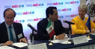 European Commission's General Director of Enterprise and Industry visits Mexico
