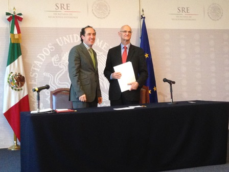 "Signing of the Financing Agreement for the Cooperation Project ""Laboratory of Social Cohesion II between the European Union and Mexico"""