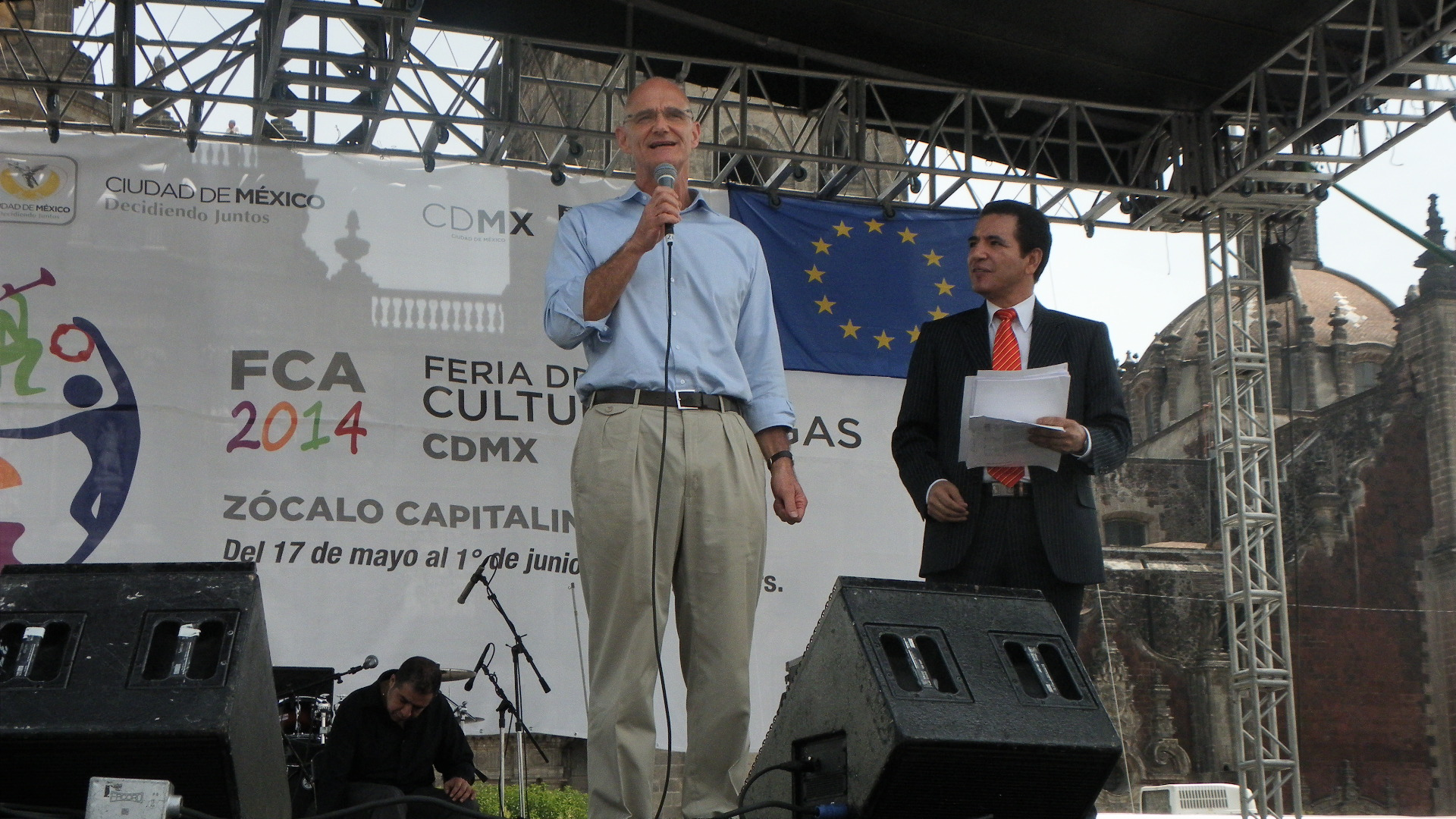 Celebrating Europe in the Cultural Fair of Mexico City