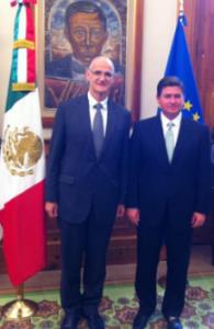 Ambassador Standley meets with Governor of Nuevo Leon