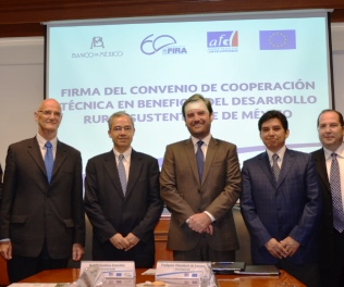 The European Union and the French Development Agency reassert their commitment with rural sustainable development in Mexico