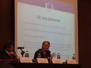 Domenico Fornari, Head of the Trade Section in the EU Delegation to Mexico, took part in the Fourth Meeting of the International Association for the Protection of Intellectual Property (AIPPI)