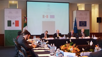 European Union and Mexico meet to evaluate bilateral relationship