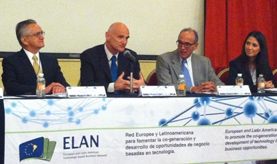 On October 14th, the Ambassador Andrew Standley inaugurated the European and Latin American Technology Based Business Network (ELAN) event.