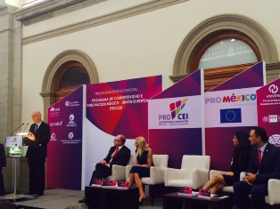 Competitiveness and Innovation Program Mexico -European Union (PROCEI) presents results