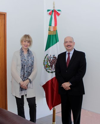 Mexico and the European Union held the Second Meeting of the High Level Political Dialogue