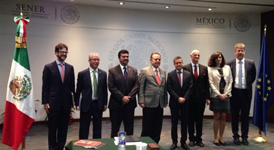 The Commissioner for Research, Science and Innovation, Carlos Moedas visited México