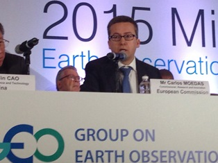 Commissioner Carlos Moedas, attended the ministerial meeting of GEO (Group on Earth Observation)  in the Mexico City