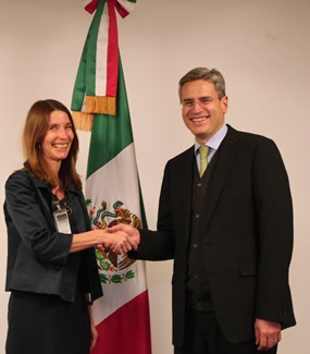 Visit to Mexico of DG Trade Director for Latin America and Asia of the European Commission, Ms Helena König, 9-11 December 2015...