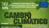 Climate Change Seminar 11th June coorganised by Delegation of the European Union in Mexico and FES Acatlán-UNAM