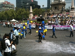 The European Union's Delegation in Mexico participates at the Friend's Cultures Fair 2011 organised by the Mexico City Government, from 14th to 29th May, on Paso de la Reforma.