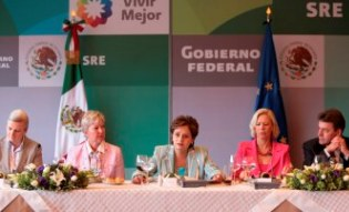 EU and Mexico strenghthen economic relations and cooperation.