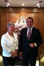 Meeting with the Governor of the State of Mexico