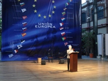 Marie-Anne Coninsx, Head of the EU Delegation in Mexico, opens ceremony of the exhibition of the European Union in Mexico