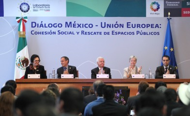 "Ambassador Coninsx inaugurates the EU-Mexico Dialogue ""Rescue of Public Spaces and Promoting Social Cohesion"""