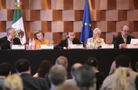 Mexico's and the European Union's civil society met to discuss matter of mutual interest.