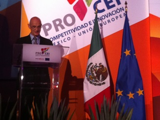 In the framework of the European Union- Mexico Competitiveness and Innovation Programme (PROCEI) contracts were signed in order to foster Mexican SMEs.
