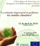 The business solution to Climate Change  view programme