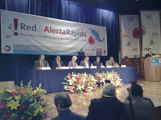 Launching of the Mexican Rapid Alert Network (RAN) in the Ministry of Economy