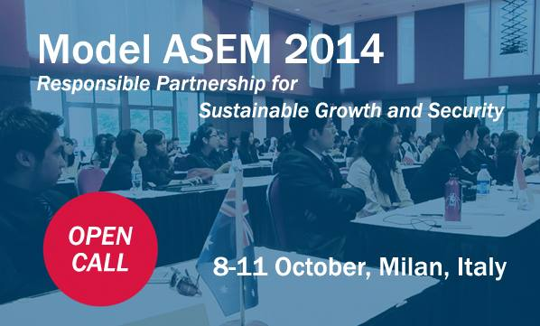 The Model ASEM 2014 application is open now!