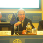 Ambassador Gazzo chairing the seminar